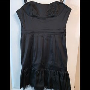 BCBGMaxAzria LBD with Tulle Lining Size 4